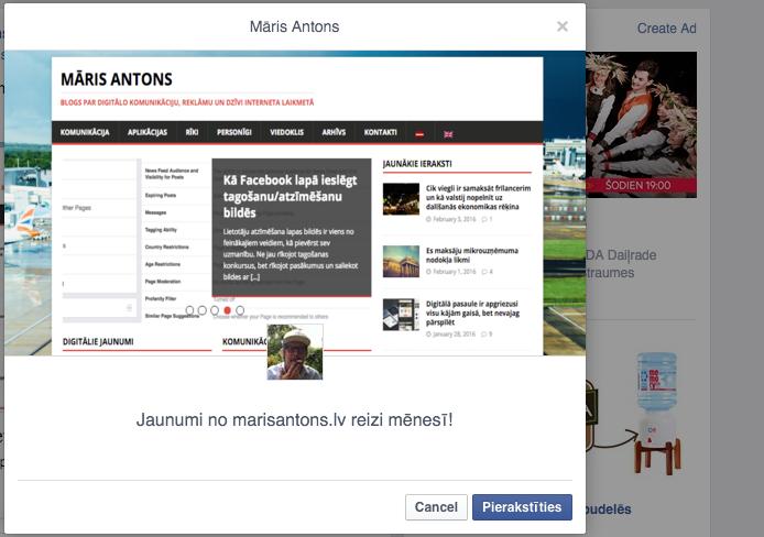 facebook lead ads kampaņa